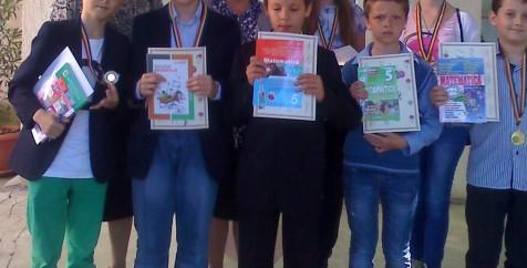 "Concursul interjudetean de matematica ""Gheorghe Guja"""